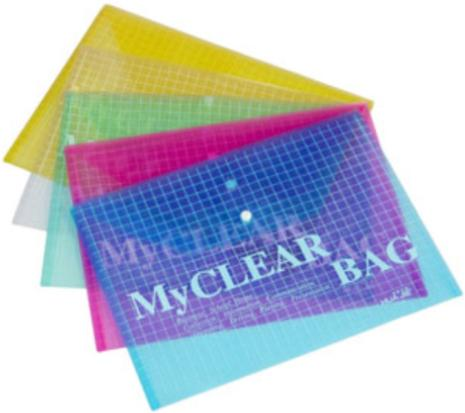A4 PLASTIC CLEAR BAG