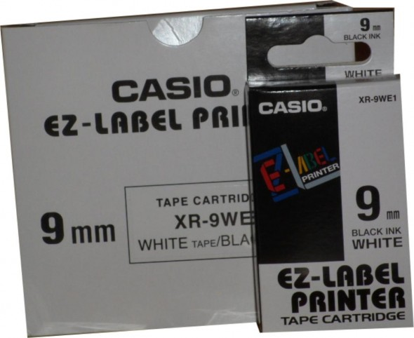 CASIO TAPE CASSETTE 9MM