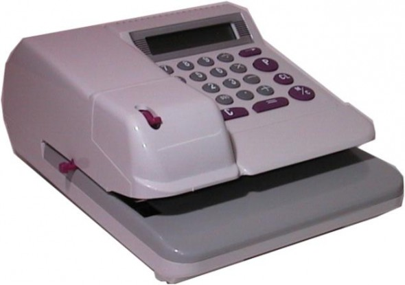 16 CURRENCY ELECTRONIC CHECK WRITER