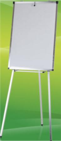 FLIP CHART WITH ROLLER STAND