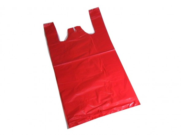 PLASTIC SHOPPING BAG MEDIUM