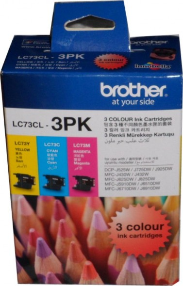 BROTHER LC73 INK CARTRIDGE BLACK
