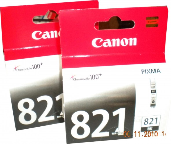 CANON CL 821 INK CARTRIDGE BLACK