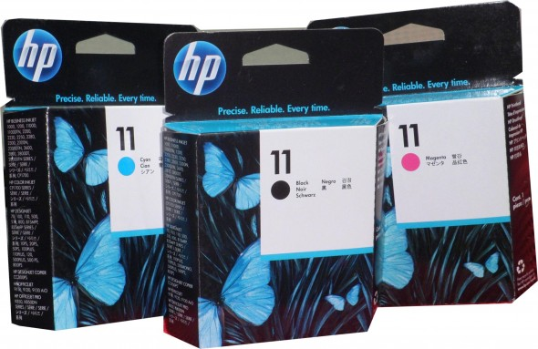 HP C4811 PRINT HEAD INK CARTRIDGE YELLOW