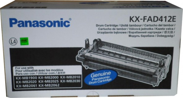 PANASONIC KX-FA412E TONER CARTRIDGE BLACK
