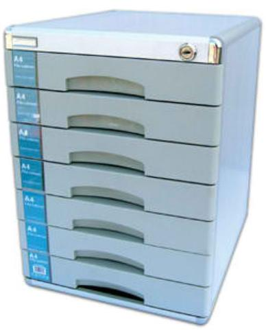 8 DRAWERS ALUMINUM FILING DRAWER