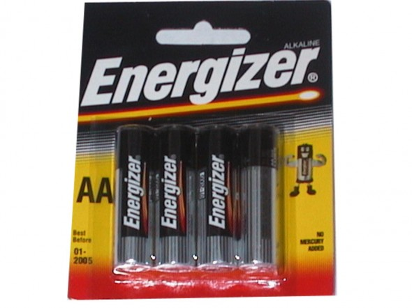 AA ENERGISER BATTERIES