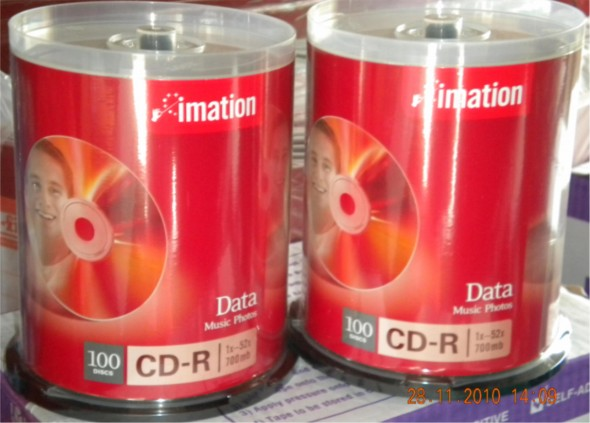 IMITATION CDR 52X 700MB 100'S SPINDLE