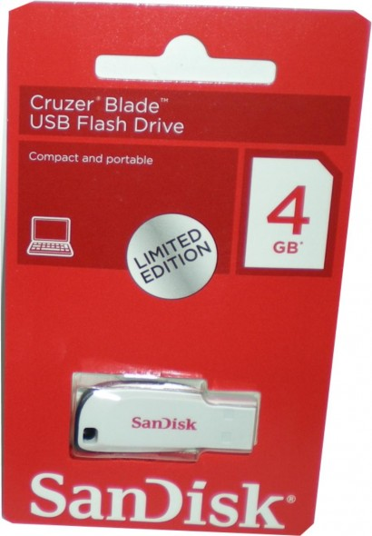 SCANDISK 4GB THUM DRIVE