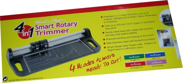 4 IN ONE PAPER TRIMMER
