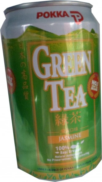 POKKA GREEN TEA CAN 24'S CTN