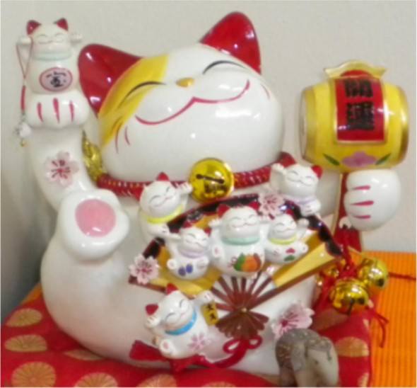 888 LUCKY FORTUNE CAT XLARGE