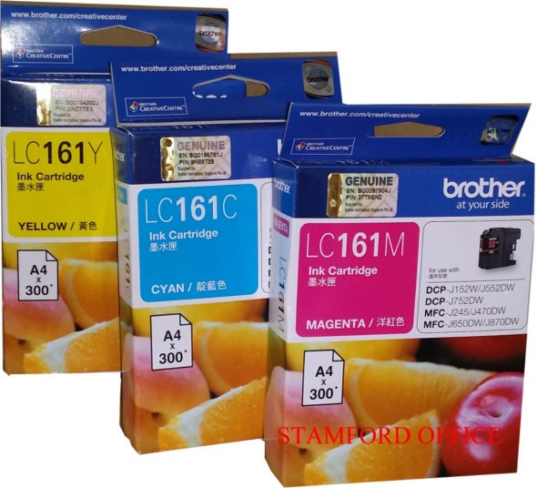 BROTHER LC161 INK CARTRIDGE