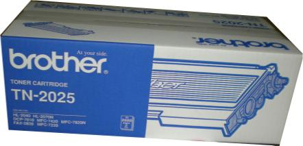 BROTHER TN 2025 TONER CARTRIDGE