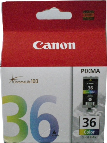 CANON CLI 36 INK CARTRIDGE COLOR