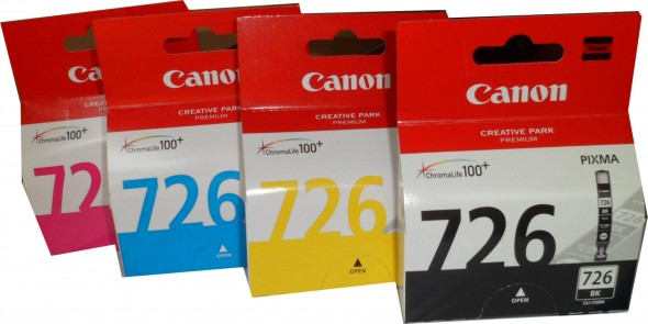CANON CLT726 INK CARTRIDGE MAGNETA