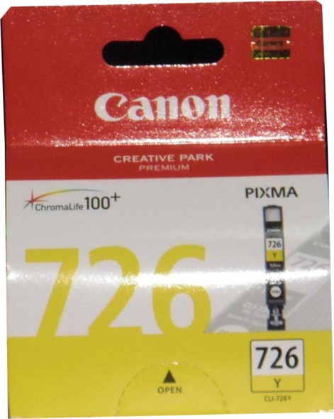 CANON CLI726 INK CARTRIDGE YELLOW