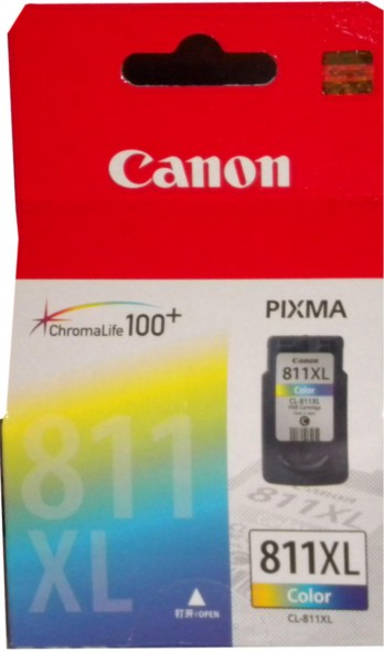 CANON CLI 811XL INK CARTRIDGE COLOR
