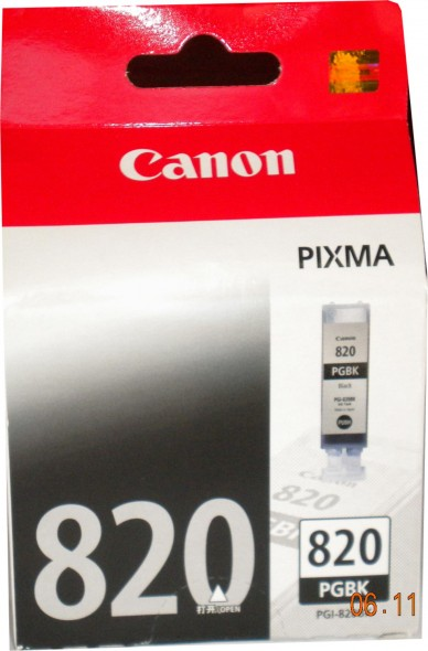 CANON PG 820 INK CARTRIDGE BLACK