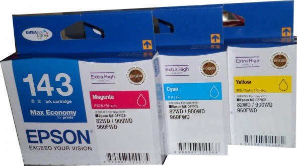 EPSON 143 INK CARTRIDGE COLOR