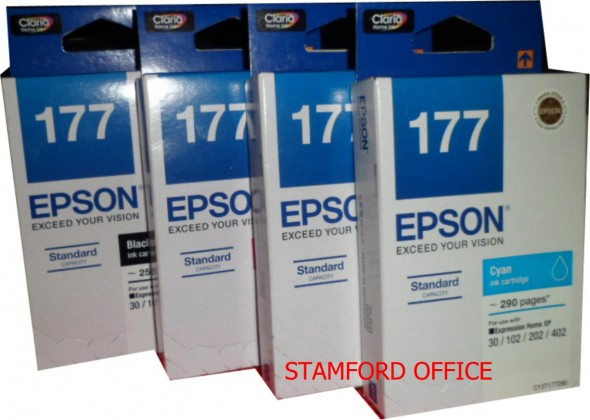 EPSON 177 INK CARTRIDGE  CYAN