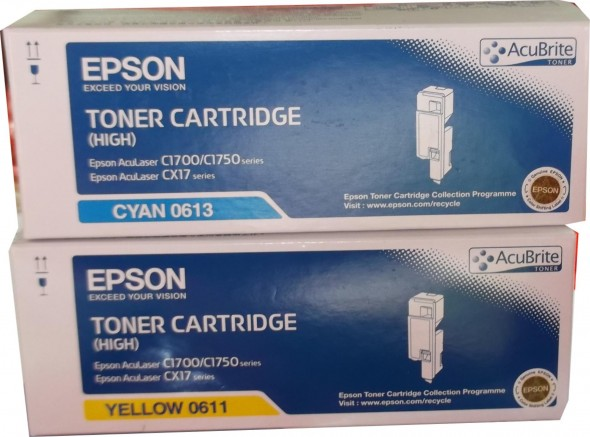 EPSON C1770 TONER CARTRIDGE BLACK