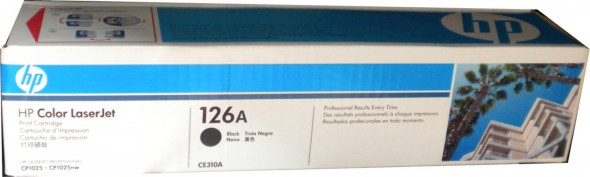 HP CE310 TONER CARTRIDGE BLACK