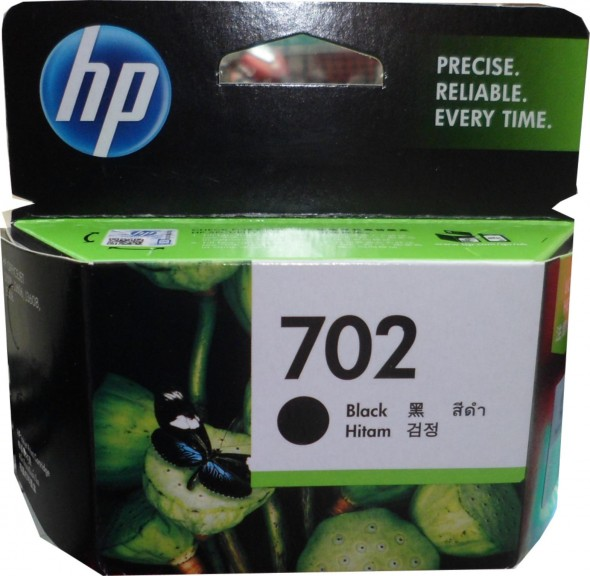 HP 702 INK CARTRIDGE BLACK