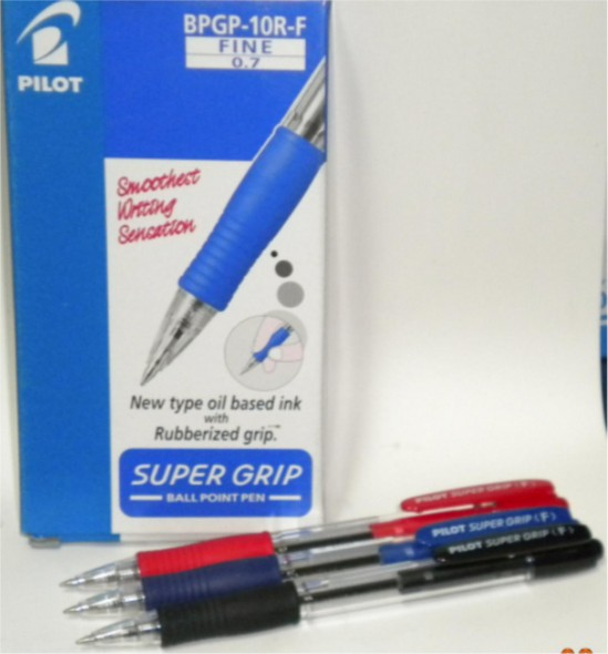 PILOT SUPER GRIP BALL PEN